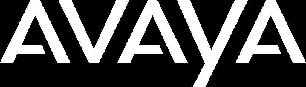 logo branco AVAYA